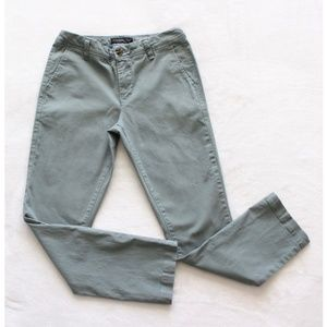 Aeropostale Olive Green Skinny Jeans Size 28/30